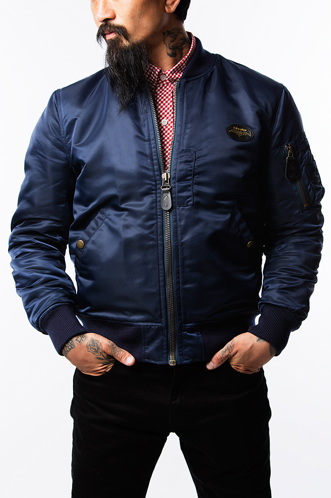 SOFTMACHINE 15AW PATRIOT JK (MA-1 TYPE JACKET)