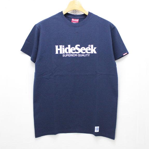 HIDE&SEEK 20th Hideseek S/S Tee:NAVY