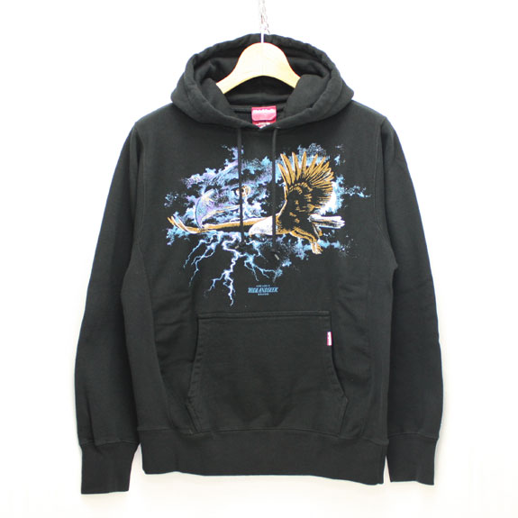 HIDE&SEEK Live Like G Sweat Parka:BLACK