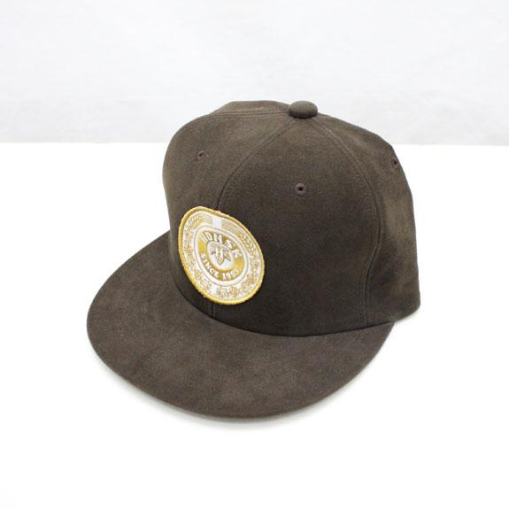 HIDE&SEEK Pub HDNSK CAP (MOLESKIN):BROWN