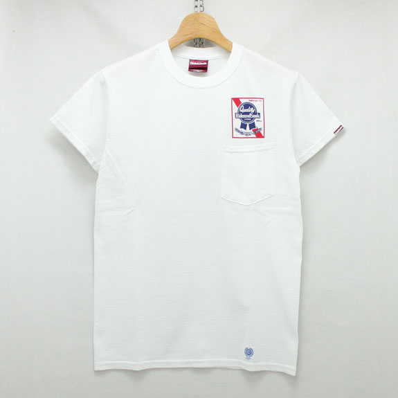 HIDE&SEEK 20th Pub S/S Tee:WHITE