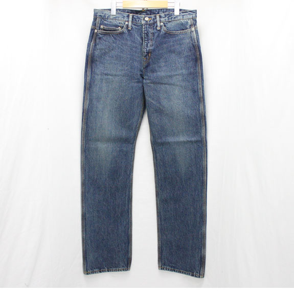 RATS TRIPLE STITCH VINTAGE WASH DENIM PANTS:INDIGO