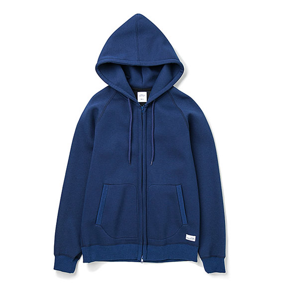 BEDWIN L/S ZIP UP HOODED BONDING