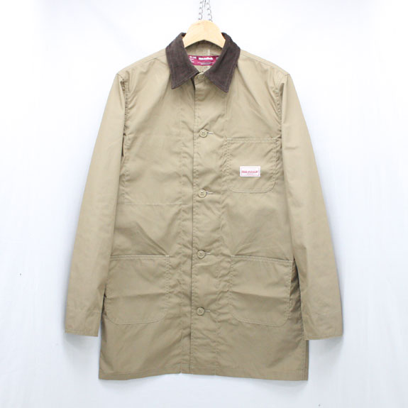HIDE&SEEK Shop Coat KHAKI