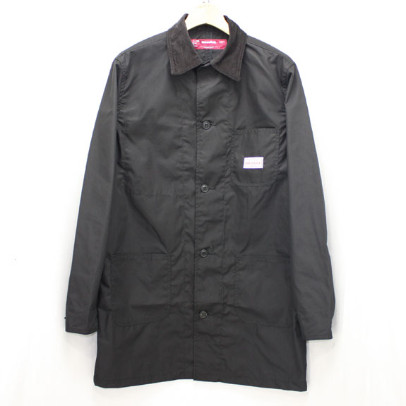 HIDE&SEEK Shop Coat BLACK