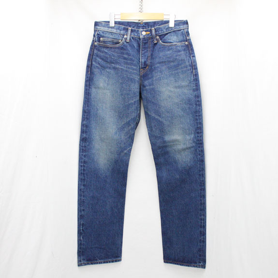 RATS USED TYPE DENIM PANTS:INDIGO