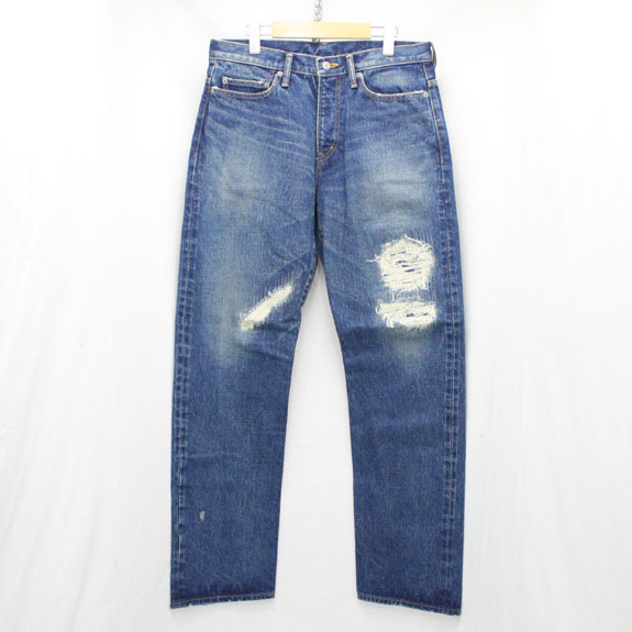 RATS CRASH TYPE DENIM PANTS:INDIGO