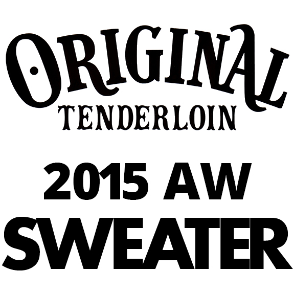 TENDERLOIN T-SWEATER V/N
