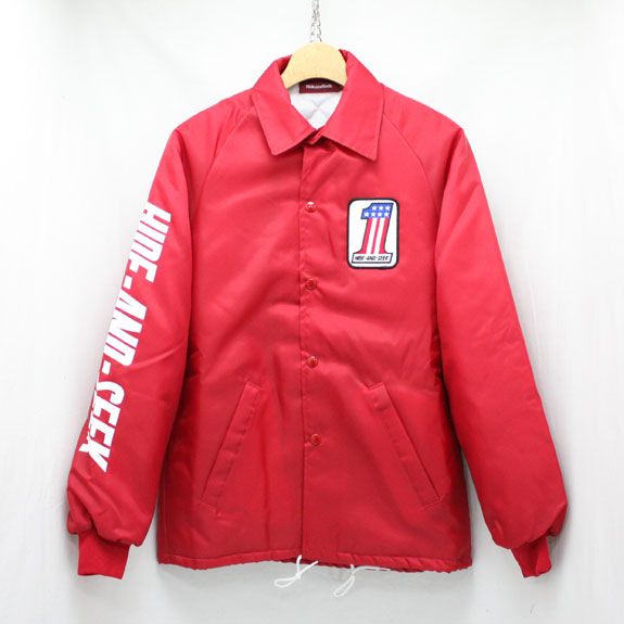 HIDE&SEEK #1 Team JKT (15aw):RED