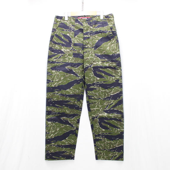 HIDE&SEEK Fatigue Pants (15aw):TIGER CAMO