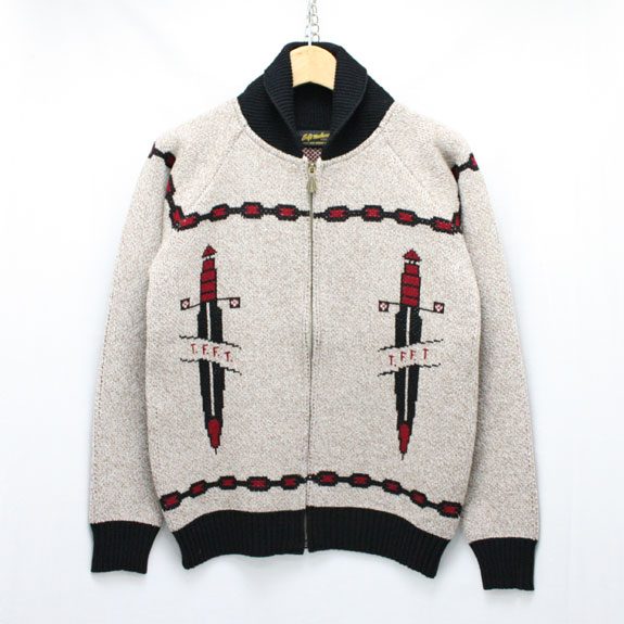 SOFT MACHINE SWORDS CARDIGAN:BEIGE
