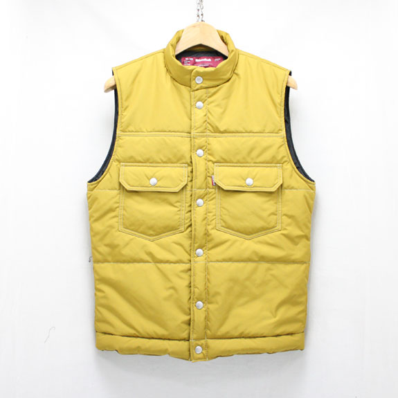 HIDE&SEEK Nylon Vest (2nd Type):MUSTARD
