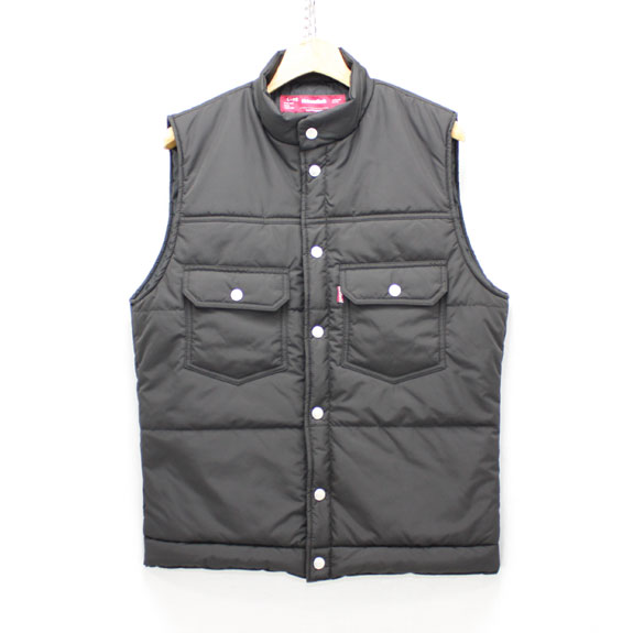 HIDE&SEEK Nylon Vest (2nd Type):BLACK