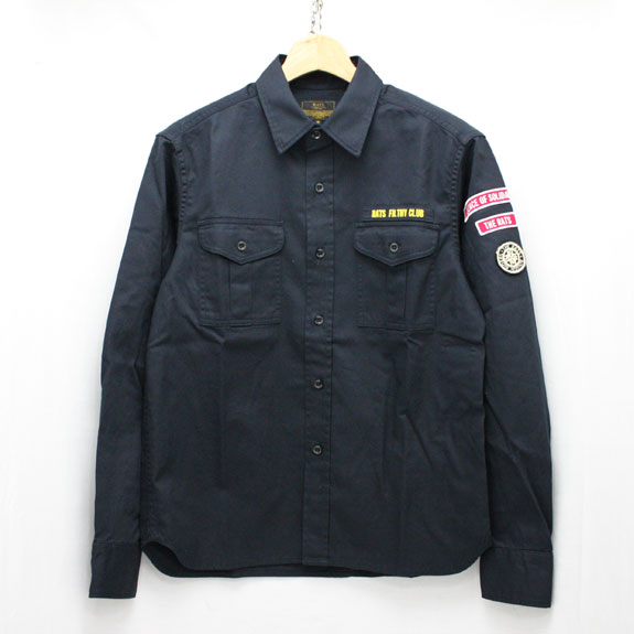 RATS R/F CLUB SHIRT:NAVY
