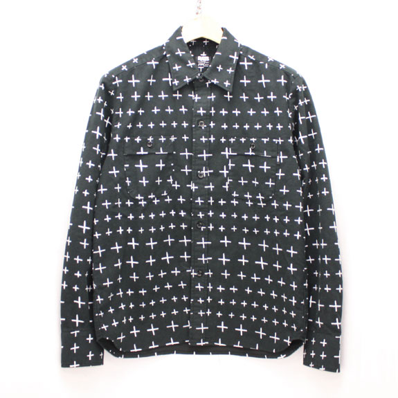 RATS INDIAN CROSS SHIRT:BLACK
