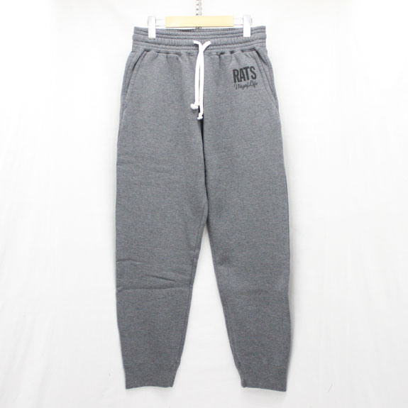 RATS SWEAT PANTS:DARK GRAY