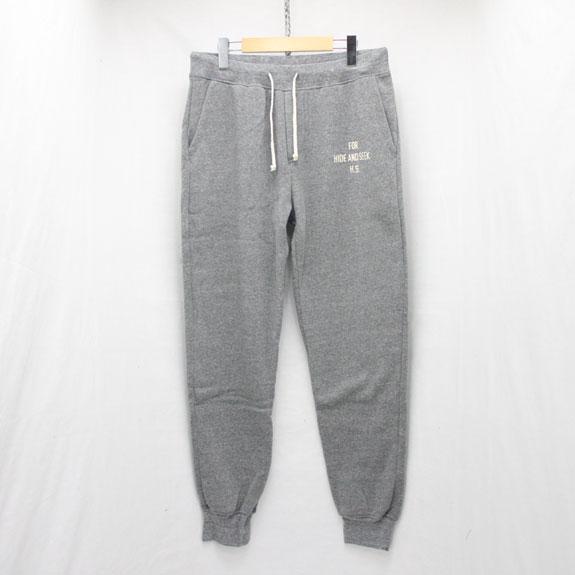 HIDE&SEEK Sweat Pants (15aw):H-GRAY