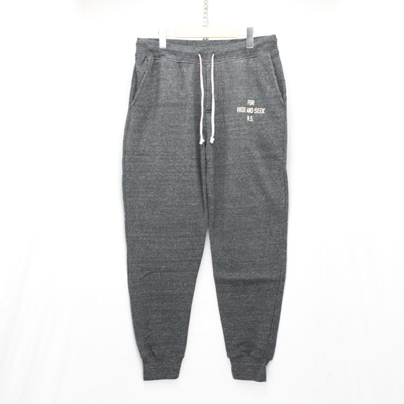 HIDE&SEEK Sweat Pants (15aw):C-GRAY