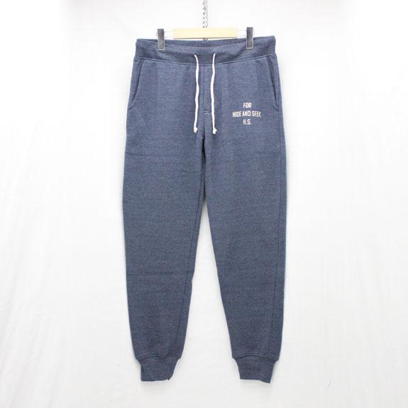HIDE&SEEK Sweat Pants (15aw):BLUE