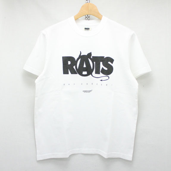 RATS ANARCHY T-SHIRTS:WHITE