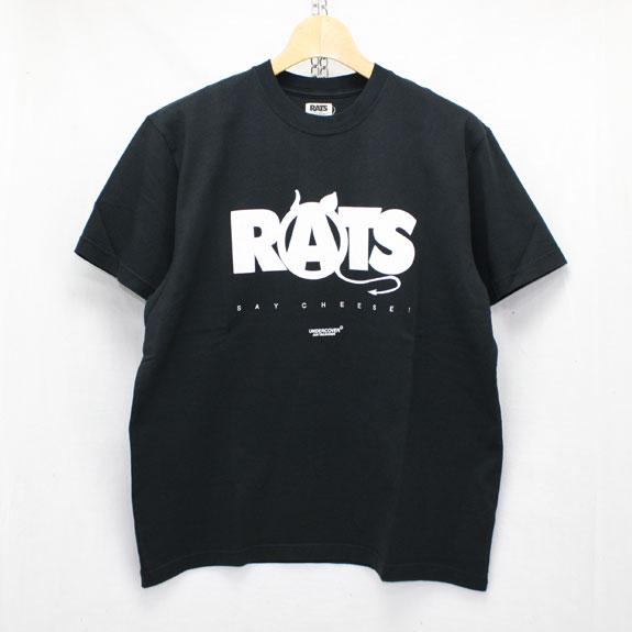 RATS ANARCHY T-SHIRTS:BLACK