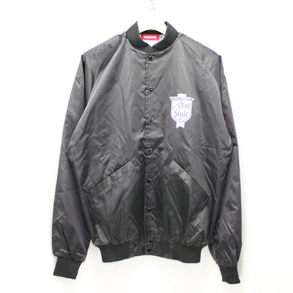HIDE&SEEK Stadium JKT (16ss):BLACK(ORIG)