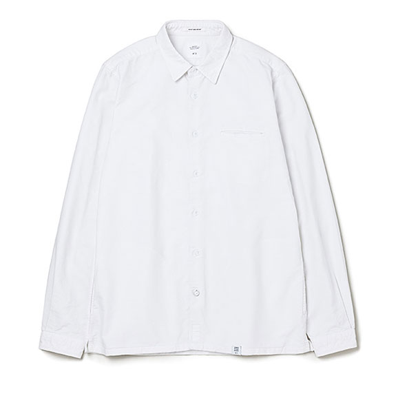 BEDWIN L/S SIDE POCKET OX SHIRT