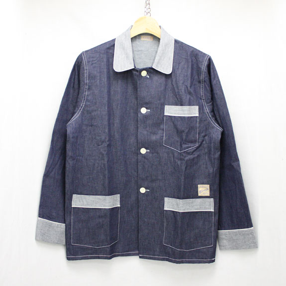 BELAFONTE RAGTIME DENIM PAJAMA SHIRTS:6oz DENIM