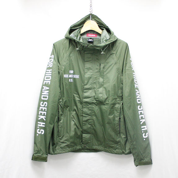 HIDE&SEEK Packable Rain JKT (16ss):O D