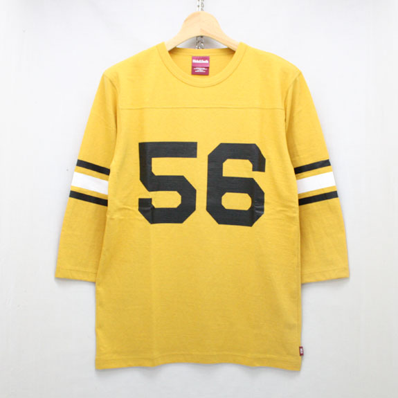 HIDE&SEEK Football 3/4s (16ss):YELLOW