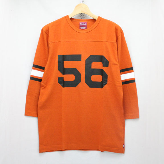 HIDE&SEEK Football 3/4s (16ss):ORANGE