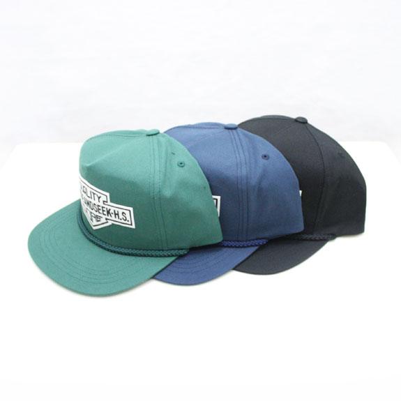 HIDE&SEEK Q.C. Emblem CAP