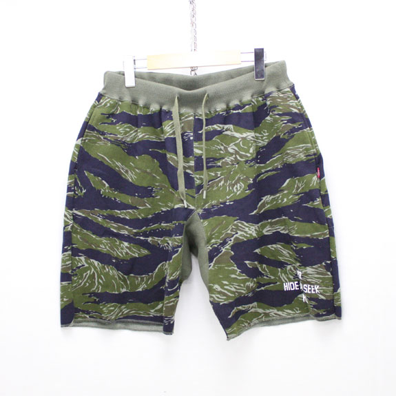HIDE&SEEK Camo Sweat Pants:TIGER CAMO
