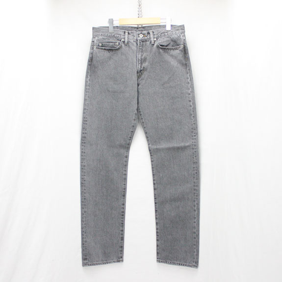 RATS BLACK STONE WASH DENIM PANTS:GRAY