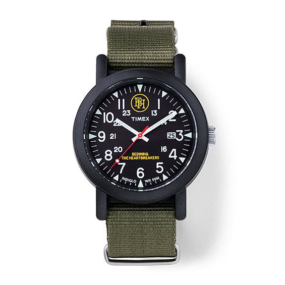 BEDWIN TIMEX×BEDWIN MILITARY WATCH