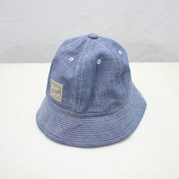 BELAFONTE RAGTIME CHAMBRAY METRO CAP:5oz BLUE CHAMBRAY