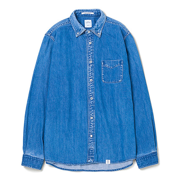 BEDWIN L/S DENIM B.D SHIRT FD