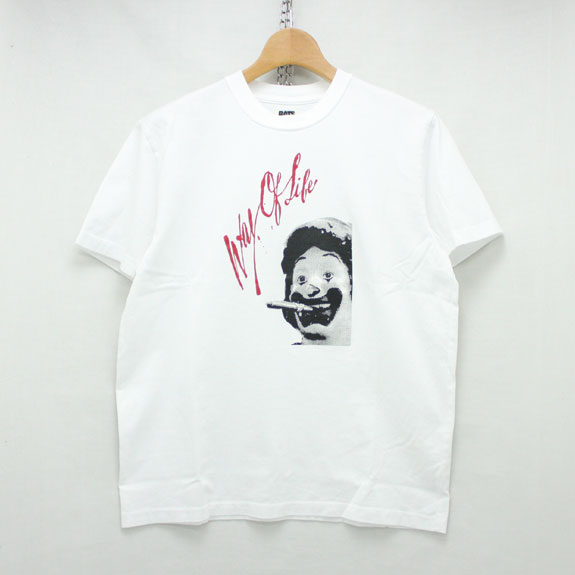 RATS WAY OF LIFE T-SHIRT:WHITE