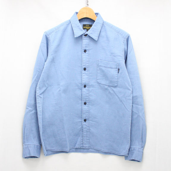 RATS PIQUE WORK SHIRT:BLUE