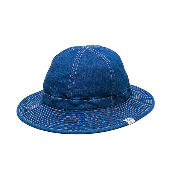 BEDWIN DENIM MILITARY HAT