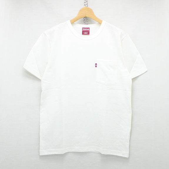 HIDE&SEEK Pocket S/S Tee (16ss):WHITE