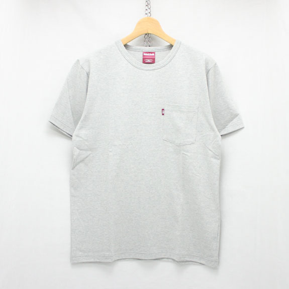 HIDE&SEEK Pocket S/S Tee (16ss):H-GRAY