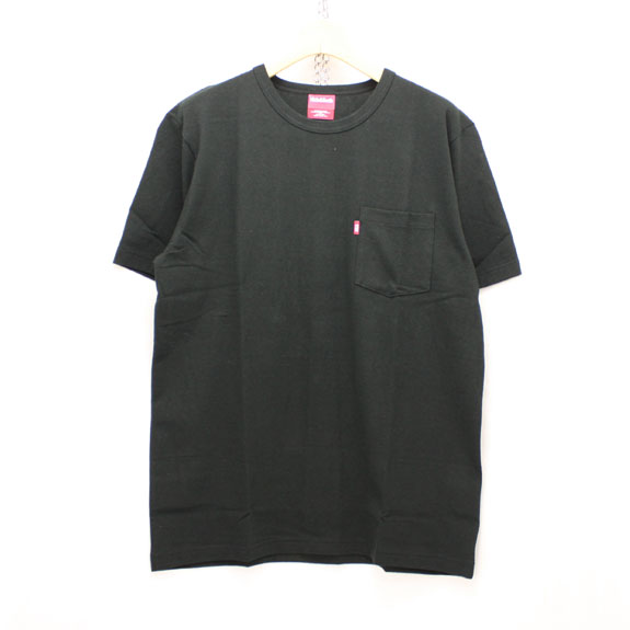 HIDE&SEEK Pocket S/S Tee (16ss):BLACK