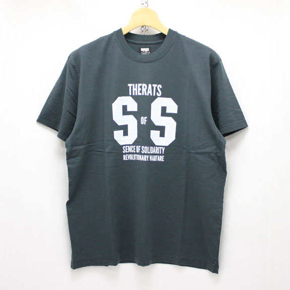 RATS SS T-SHIRT:CHARCOAL