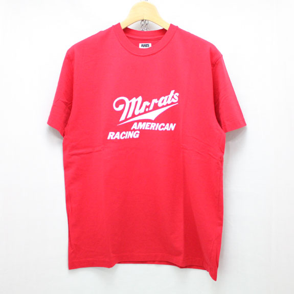 RATS MR RATS T-SHIRT:RED