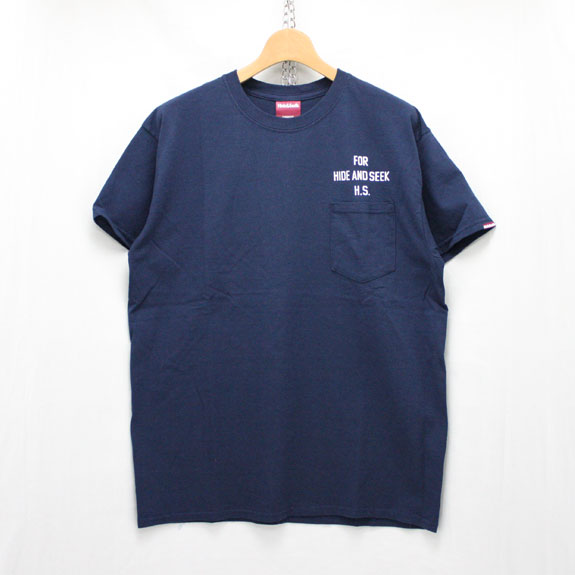 HIDE&SEEK PERFECT DAY Pocket Tee:NAVY