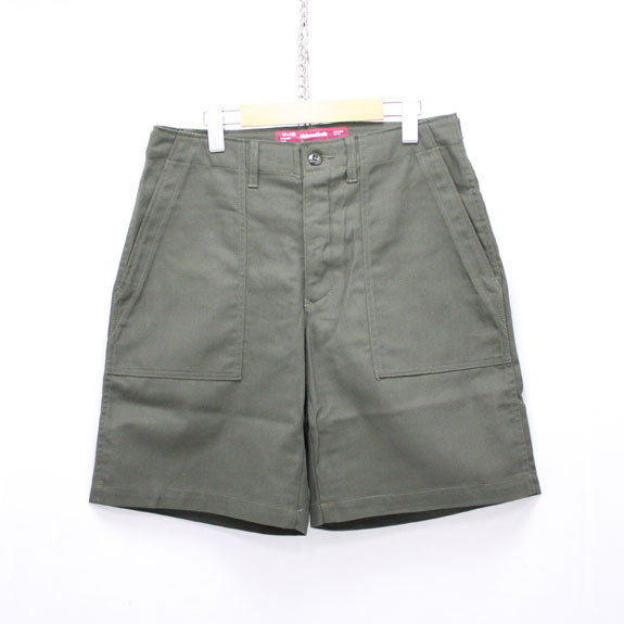 HIDE&SEEK Fatigue Short Pants (16ss):O D