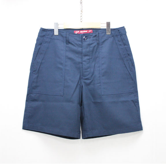 HIDE&SEEK Fatigue Short Pants (16ss):NAVY