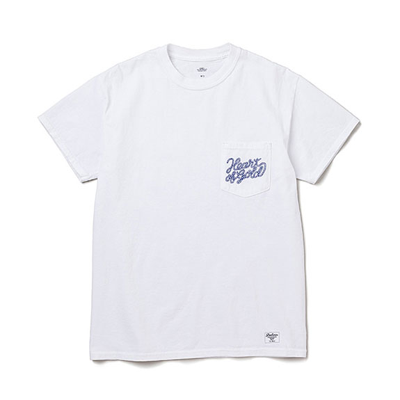 BEDWIN S/S C-NECK POCKET T