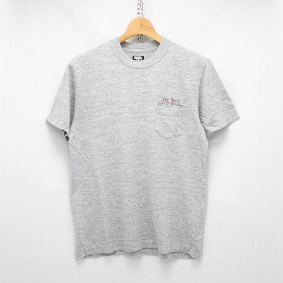 RATS EAGLE POCKET T-SHIRT:TOP GRAY
